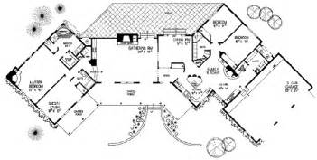 Santa Fe Style House Plans Adobe Southwestern Style House Plan 4 Beds 3 00 Baths
