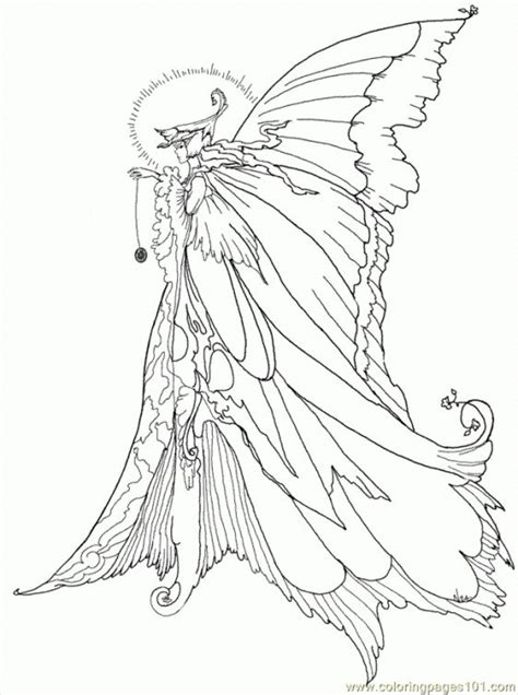 Coloring Pages For Grown Ups Fairies by Advanced Challenging Coloring Pages For Grown Ups