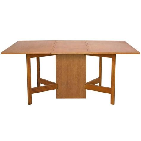 Gate Leg Dining Tables George Nelson Gate Leg Dining Table Model 4656 By Herman Miller In Oak For Sale At 1stdibs