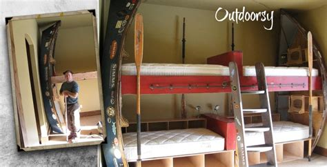boat bunk bed drift boat bunk beds crazy bunkies pinterest