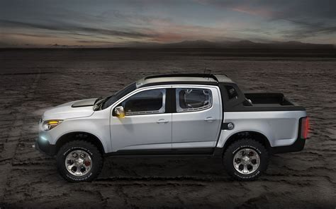 chevy colorado chevrolet colorado rally concept revealed in argentina
