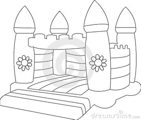 bouncy house coloring pages hidden picture puzzles mazes find the differences