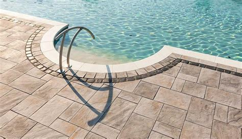 pool patio pavers paver pool patio deck ideas