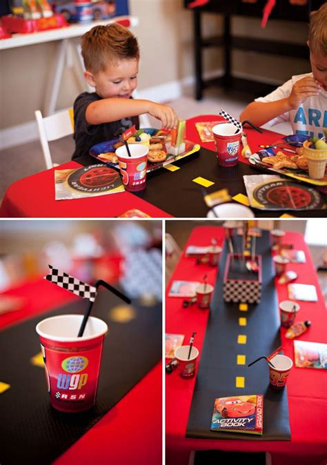 car themed decorations cars birthday