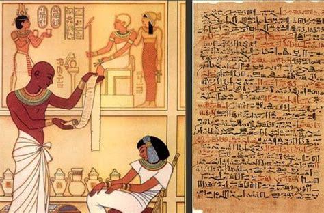 el papiro egipcio el primer libro de la historia nosotros medicina a su servicio