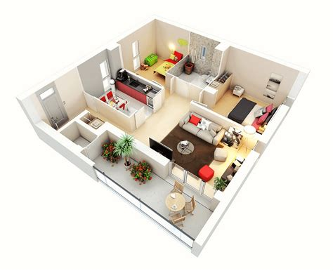 two bedroom hall kitchen house plans 3d two bedroom house layout design plans 22449 interior ideas