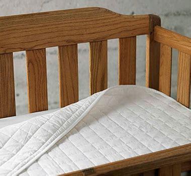 100 Organic Crib Mattress by Coyuchi Organic Cotton Sateen Quilted Crib Mattress Pad