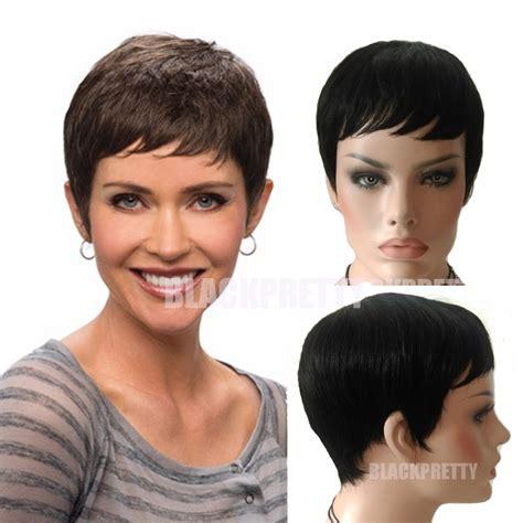 Were Can I Buy A Pixe Cut Wig | cheap short brazilian hair human wig pixie cut short full