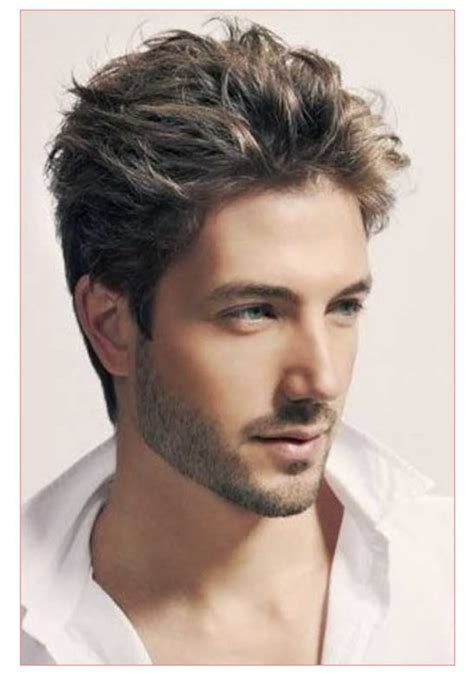 mens short hairstyles middle mens hairstyles middle 25 medium length mens hairstyles