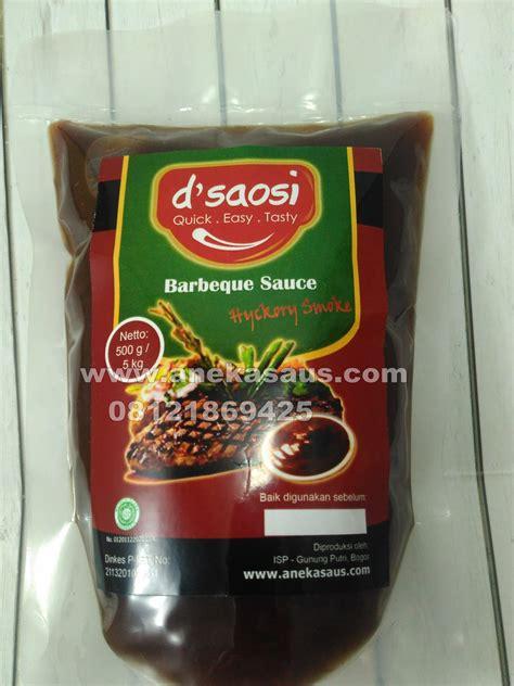 Saos Blackpepper My Taste saus barbeque smoke 1 kg suplier aneka saus