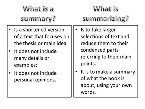 Summarize An Essay by Reading And Writing Iv Write A Summarizing Essay