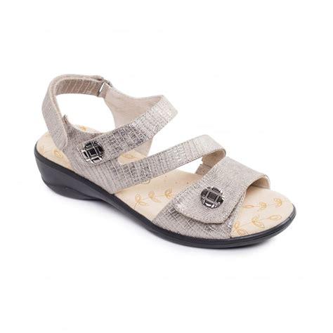 metallic sandals uk padders vienna womens metallic sandals free returns at