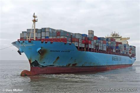 maersk vessel schedule to maersk saigon type of ship cargo ship callsign