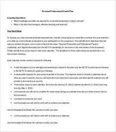 sle plan template free documents in