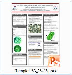 powerpoint poster template 90 x 120 poster science template addmybuddies