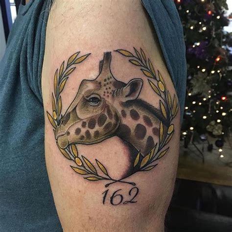animal respect tattoo 120 best giraffe tattoo designs meanings wild life on