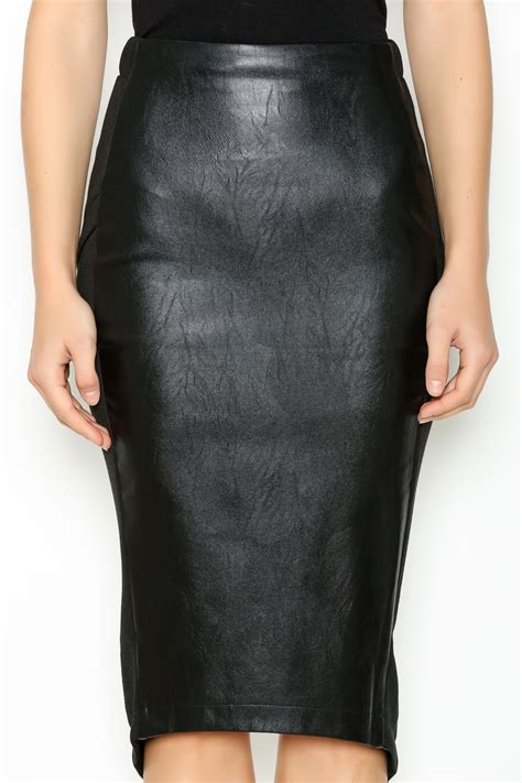 Edgy Skirt hommage edgy leather pencil skirt from arkansas by maddox shoptiques
