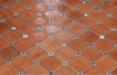 Mexican Bathroom Ideas Mexican Tile 8x8 Tierra Floor Tile Octagonal