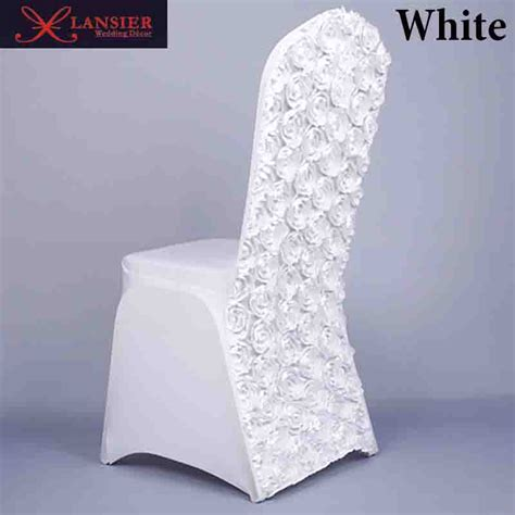 wedding chairs for sale 3d flower color white wedding chair covers