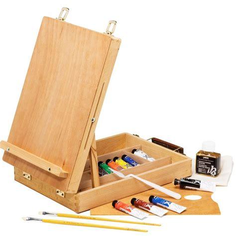 cassetta cavalletto offerta cassetta cavalletto con colori a olio studio