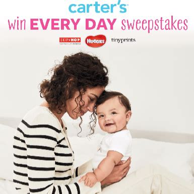 Carters Bodysuit Sweepstakes - win every day with carter s not quite susie homemaker