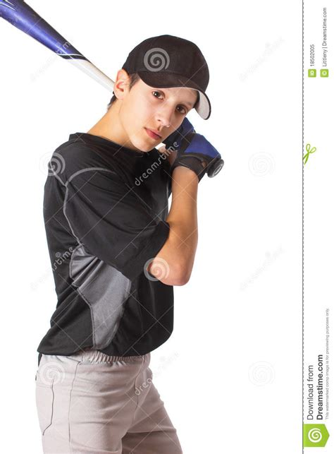 handsome teenage boy royalty free stock images image teen boy batting royalty free stock photo image 18502005
