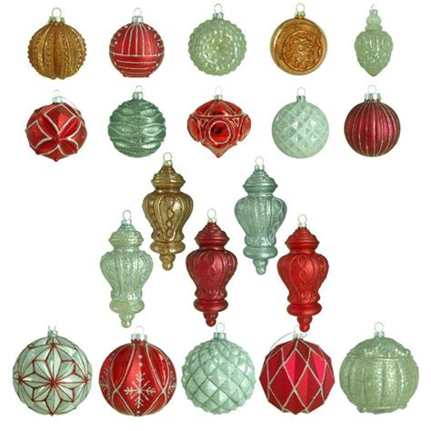 martha stewart white christmas ornaments martha stewart living winter tidings glass ornament 20 count white chestnut shop