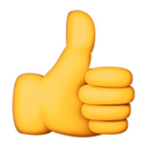 emoji thumbs up thumbs up sign emoji u 1f44d u e00e