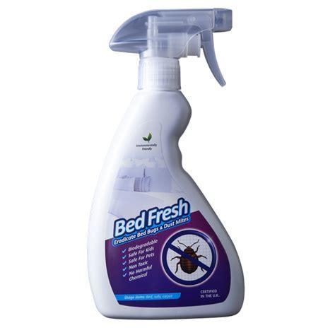 eradicator bed bug spray bed fresh eradicate bed bugs dust mites spray 500ml