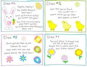 easter morning scavenger hunt free printable happy home fairy