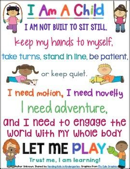 i am sitting happenings that entertained me at school books i am a child posters by herding kats in kindergarten tpt