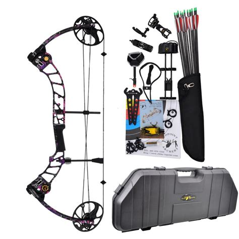 topoint archery compound bow t1 luxury package cnc milling