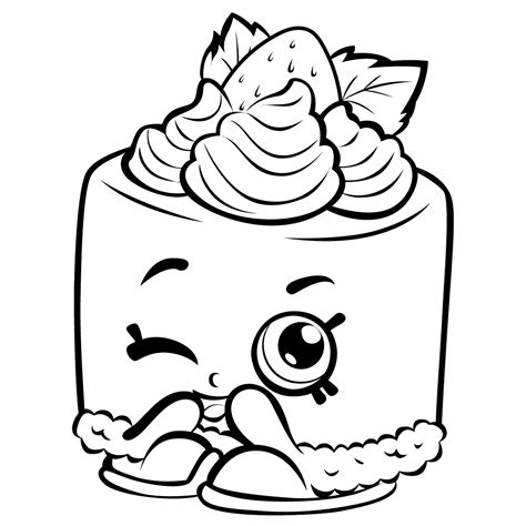 Shopkins Coloring Pages Best Coloring Pages For Kids Print Coloring Sheets