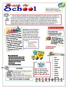 toddler newsletter templates september preschool newsletter template m