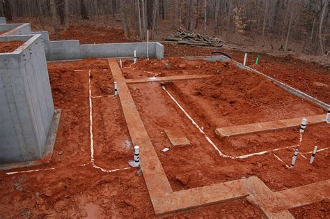 Plumbing Cement by February 4th Foundation Work Continues Modern