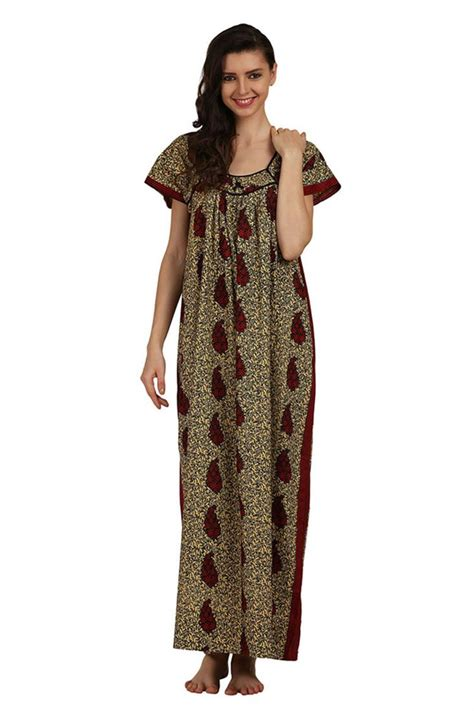 nighty dress with price cotton printed night gowns wholesale nighties maxi dresses