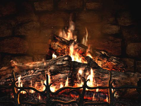 Desktop Fireplace by Fireplace Animated Wallpaper Free 3 D
