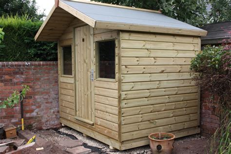 6ft X 8ft Shed by 8ft X 6ft Garden Shed The Wooden Workshop Oakford