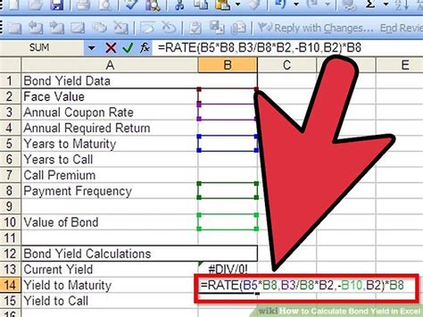 calculator yield how to calculate bond yield in excel 7 steps with pictures