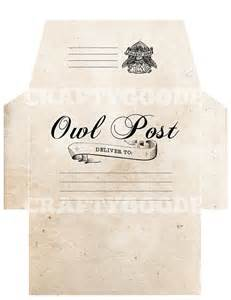 harry potter envelope template 19 best images about owl post gringotts on