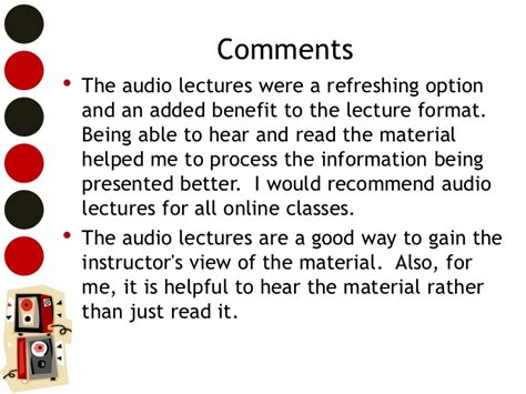 format audio lecture cd adding audio lectures