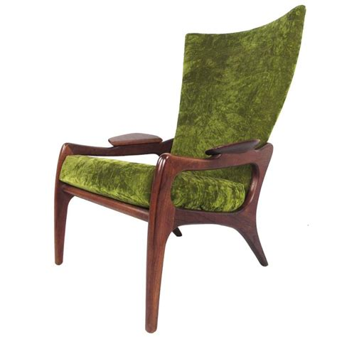 mid century modern wing chair mid century modern wingback lounge chair by adrian