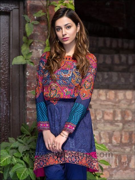 latest summer lawn kurta designs stitching styles