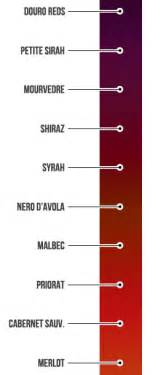types of reds defining full bodied red wines wine folly