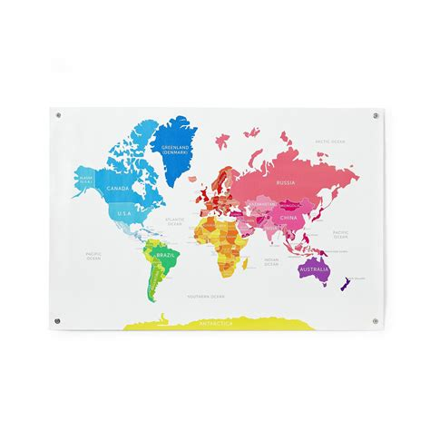 colorful world map colorful world map for www pixshark images