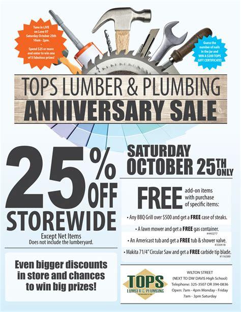 Lumber Plumbing tops lumber and plumbing deals today and eblast pins