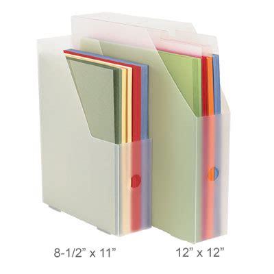 Craft Paper Holder - craft supply organization paper storage ideas ink it up