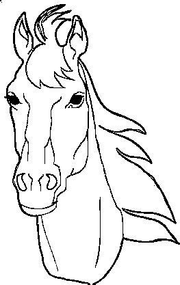 coloring pictures of horses heads coloring pages coloring pages