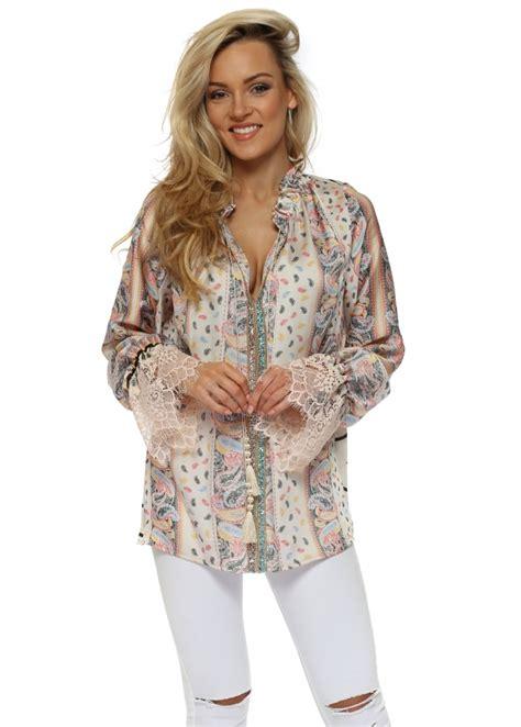 Blouse Semi Kaftan Branded just m megan mckenna blouse