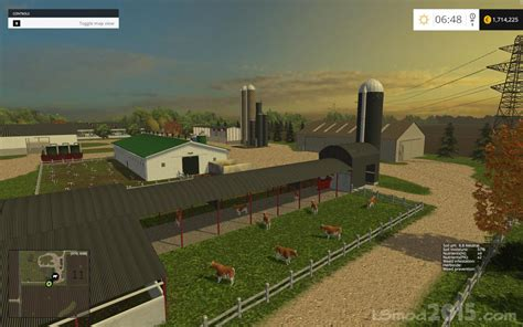 map usa fs 2015 small town america map farming simulator 2017 mods